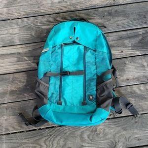 Victorinox backpack teal green gray